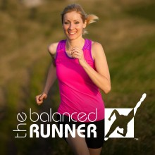 Balanced Runner Indiegogo Campaign card - woman running
