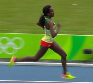 Tirunesh Dibaba Olympics 2016 10,000