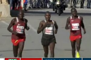 3 runners Kirui other arm