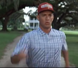 Forrest Gump arm technique
