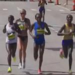 Boston Marathon and London Marathon 2017 Running Form Analysis