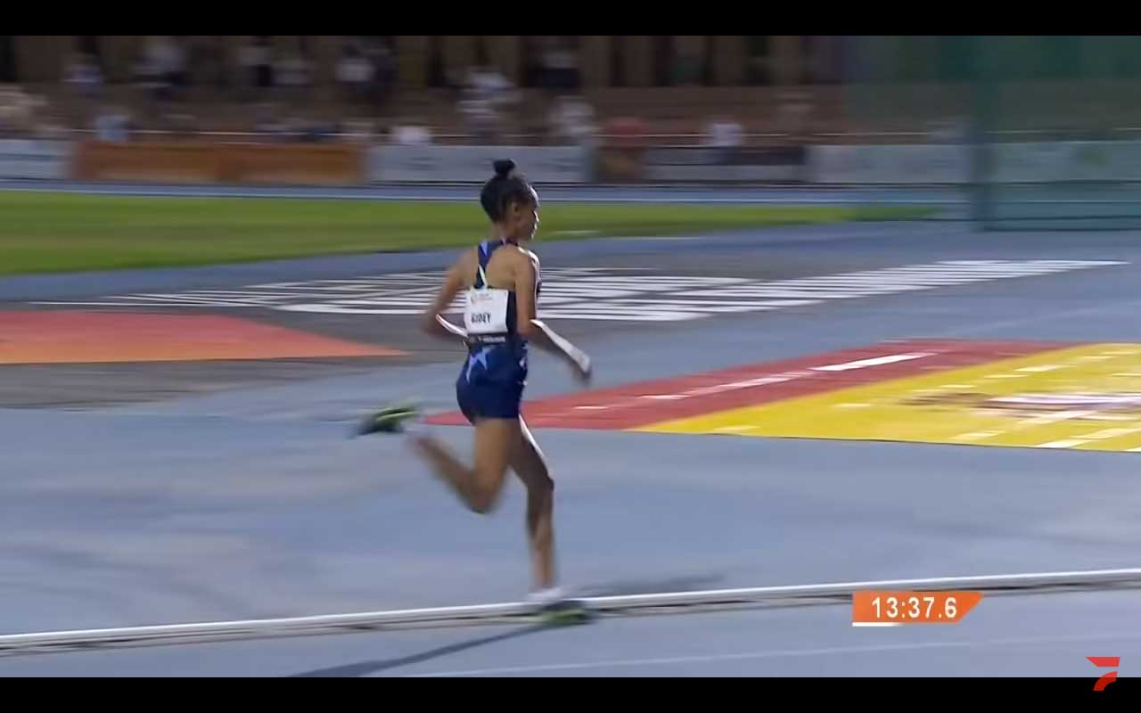 Letesenbet Gidey 5k world record