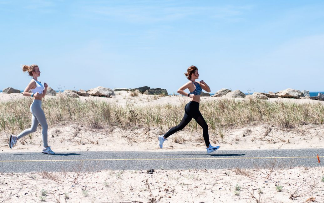 when to run upright