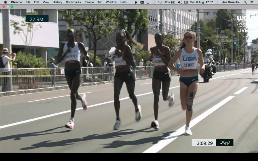 Jepchirchir, Kosgei, and Seidel--Tokyo Olympics Women's Marathon Running Form Analysis